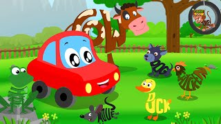 Download Animals Sound Song | Car Rhymes | Kids Video Video