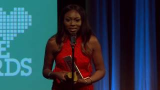 Download Patricia Bright Accepts Lovie Internet Video Person of the Year Award Video
