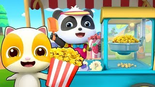 Download Yummy Popcorn Truck | Learn Colors, Colors Song, Ice Cream | Nursery Rhymes | Kids Songs | BabyBus Video