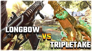 Download The LONGBOW vs The TRIPLE TAKE? (Apex Legends PS4) Video
