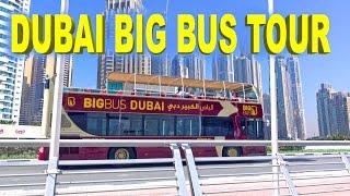 Download Dubai Big Bus Tour - Day & Night 4K Video
