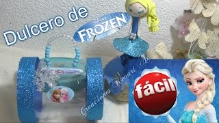 Download Dulcero de Elsa de Frozen Material Reciclado Botellas Plasticas Video