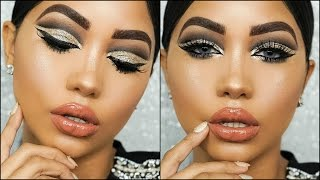 Download Glitter Cut Crease | Holiday Glam Makeup Tutorial Video