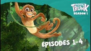 Download M&T Full Episodes 01-04 [Munki and Trunk] Video