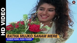 Download Batha Mujko Sanam Mere - Divya Shakti | Kumar Sanu, Alka Yagnik | Ajay Devgan & Raveena Tandon Video