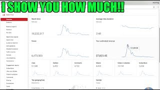 Download This is EXACTLY how much Youtube paid me for a 10 MILLION + views VIRAL VIDEO! Video