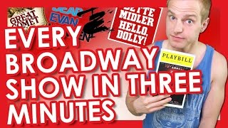 Download Every Broadway Show in Three Minutes | TYLER MOUNT Video