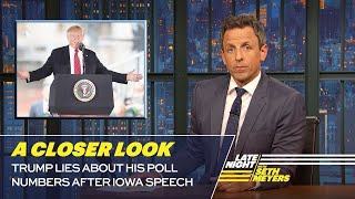 Download Trump Lies About His Poll Numbers After Iowa Speech: A Closer Look Video