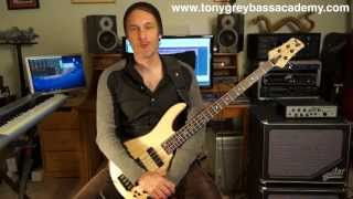 Download Bass Guitar Lesson - Phrygian Mode - Tony Grey Video