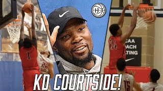 Download Bol Bol & Shareef O'neal BALL OUT infront of Kevin Durant! Video