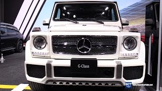 Download 2016 Mercedes-Benz G-Class G65 V12 - Exterior and Interior Walkaround - 2016 New York Auto Show Video