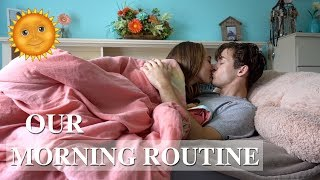 Download OUR MORNING ROUTINE AS A COUPLE! Video