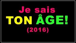Download Tour mathématique: Je sais ton âge! (2016) Video