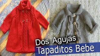 Download Tapaditos de Bebe - Tejidos En Dos Agujas Video