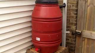 Download Rain Barrel Conversion Using EarthMinded DIY Rain Barrel Diverter & Parts Kit Video