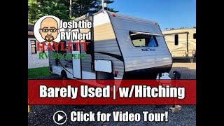 Download Barely Used 2019 KZ 1800QB Mini Travel Trailer with Hitch Included! Video
