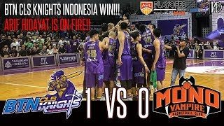 Download HoopsHighlights - [ABL PLAYOFFS 2018-2019] BTN CLS Knights Indonesia vs Mono Vampire [Game 1] (HD) Video