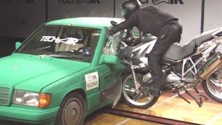 Download Alpinestars Tech-Air airbag crash test | Visordown Product Review Video
