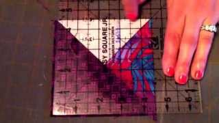 Download How to make double pinwheels from squares Video