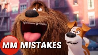 Download The Secret Life of PETS | Life of Pets MOVIE MISTAKES You Missed Video