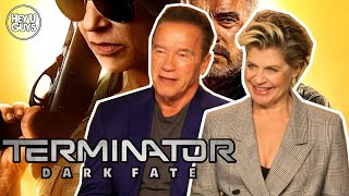 Download Arnold Schwarzenegger & Linda Hamilton Interview - Terminator: Dark Fate Video