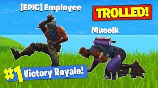 Download *TROLLED* By EPIC GAMES In Fortnite Battle Royale! Video