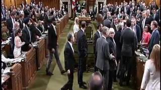 Download Tensions flare in Canadian parliament after Justin Trudeau appears to lose temper Video
