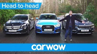 Download BMW X1 vs Mercedes GLA vs Audi Q3 2017 SUV review | Mat Watson Reviews Video