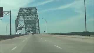 Download Arkansas - Interstate 40 West - Mile Marker 284-280 (5/23/15) Video