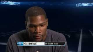 Download Durant discusses James Harden Video