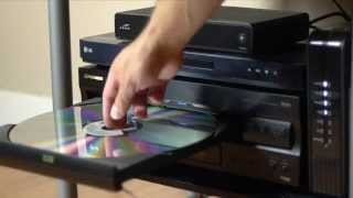 Download Playing a Star Wars Laserdisc on a 110″ Screen Video