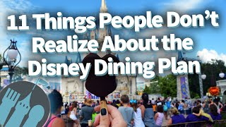 Download 11 Things People Don't Realize About the Disney Dining Plan! Video