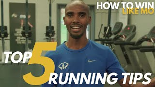 Download Mo Farah's TOP 5 RUNNING TIPS | How to Win Like Mo Video