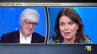 Download Otto e mezzo - Il ritorno di Sabina Guzzanti (Puntata 11/11/2015) Video