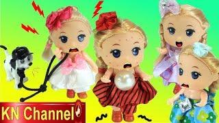Download Đồ chơi trẻ em BÚP BÊ KN Channel BỊ SỐT XUẤT HUYẾT RỒI ??? Video