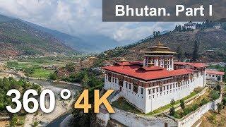Download 360°, Bhutan. Part I. 4К aerial video Video