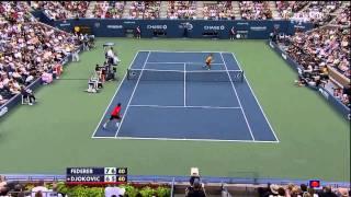 Download Federer vs Djokovic - US Open SF 2009 Highlights [HD] Video