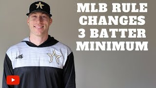 Download New MLB Rule Changes 2019 - 3 Batter Minimum Video