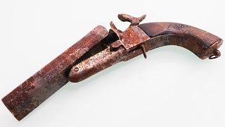 Download Antique Rusty Lefaucheux - Restoration Video
