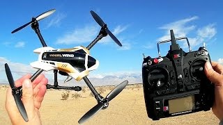 Download XK X251 Whirlwind with FPV Camera Flight Test Review Video