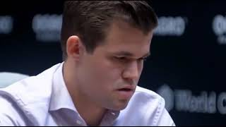 Download Only Carlsen can find the Re7 winning move in few seconds against Caruana Video