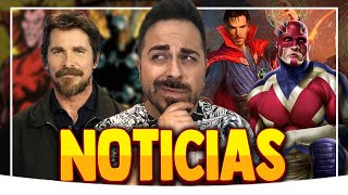 Download ¡Brutal! Christian Bale VILLANO de Thor 4 ¿Capitán Britania en Doctor Strange 2? ¡Vuelve Pietro!... Video
