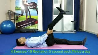 Download 6 Best Physiotherapy Exercises for L4-L5 slipped disc at home Video