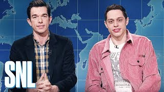 Download Weekend Update: Pete Davidson & John Mulaney Review Clint Eastwood's The Mule - SNL Video