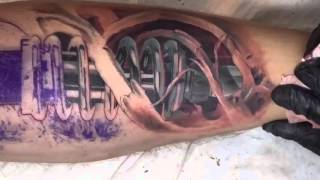 Download Tattoo artist András Gombos TURANIUM TATTOO MACHINE Video