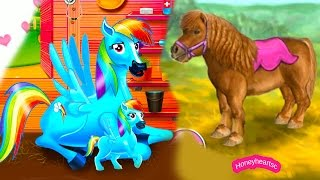 Download Rainbow Dash Baby + Jumping - Let's Play Online Horse Games -Thank You 50,000 Subbies Video