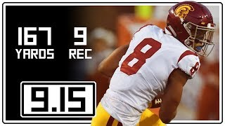Download Amon-Ra St. Brown Full Highlights USC vs Texas || 9.15.18 || 9 Rec, 167 Yards Video