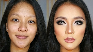 Download Transforming 3D Contour Makeup Tutorial for Indonesian Video
