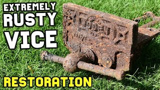 Download EXTREMELY RUSTY VISE RESTORATION Video
