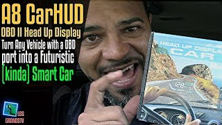 Download Car Head Up Display A8 5.5″ OBDII HUD 🚘 : LGTV Review Video